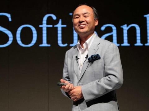 SoftBank CEO Masayoshi Son.