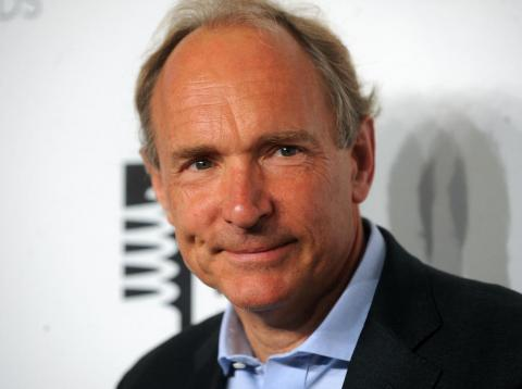Tim Berners-Lee, father of the web.
