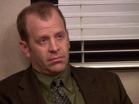 Toby Flenderson, de la serie The Office.