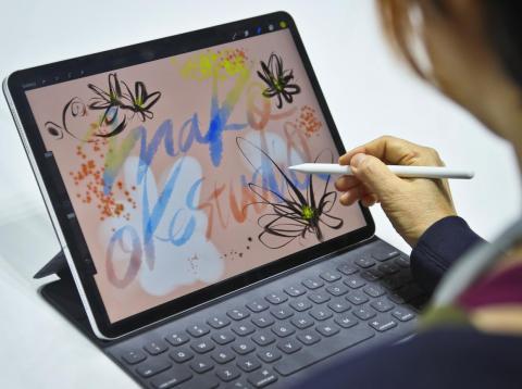 El nuevo iPad Pro y el Apple Pencil.