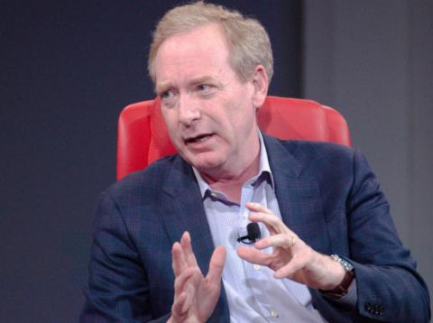 Brad Smith, presidente y jefe de legal de Microsoft. [RE]