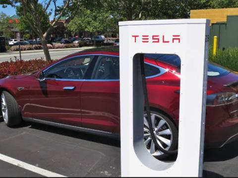 Cargadores de Tesla