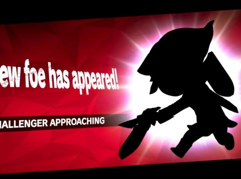 "The ""Challenger Approaching"" screen in ""Super Smash Bros. Ultimate"" lets you know who you can unlock next."