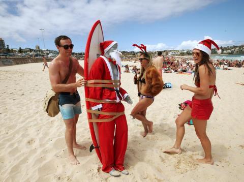 Christmas in Australia.