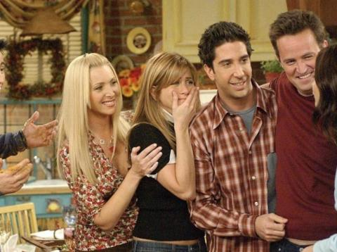 """""""Friends"""" was still on the air."""