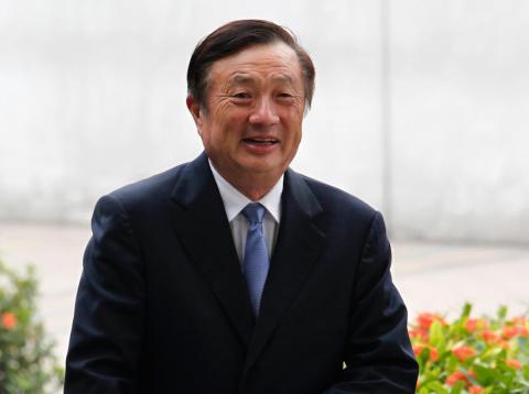 Huawei founder and CEO Ren Zhengfei.