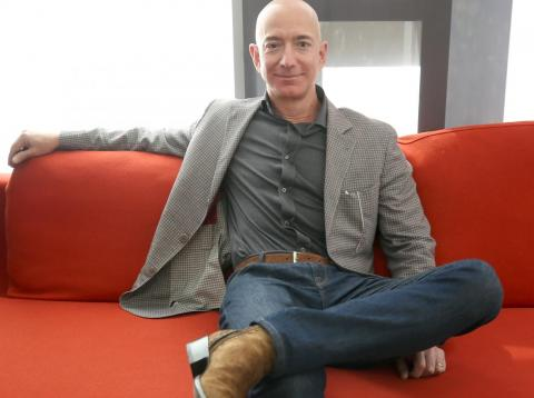 Jeff Bezos, CEO of Amazon, is the world's richest man.
