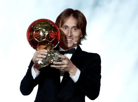 Luka Modric, Balón de Oro 2018