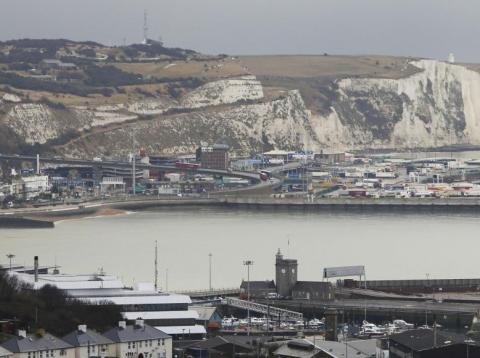 The Port of Dover.