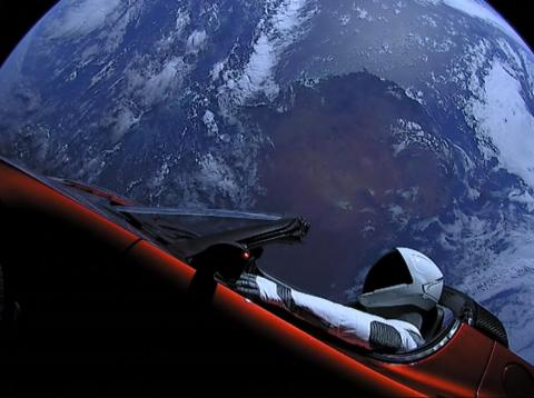 Will we see another Tesla launched into space in 2019?