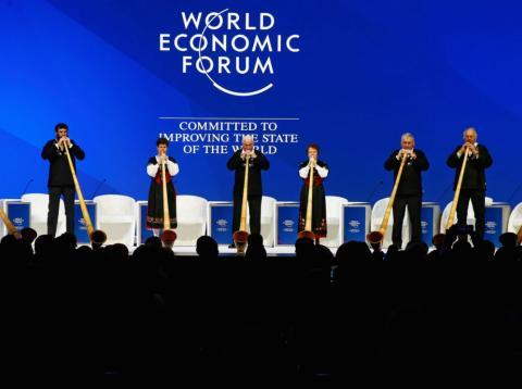 Actuación en el Foro Económico Mundial en Davos