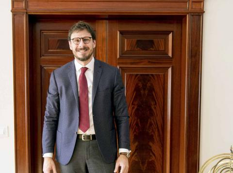 Conrado Briceño, CEO de la Universidad Europea
