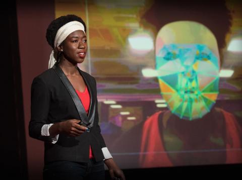 Algorithmic Justice League founder Joy Buolamwini.