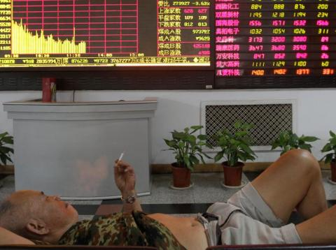 Another day, another weak set of Chinese data.