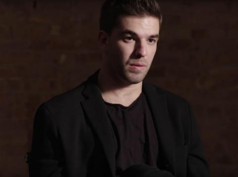 "Billy McFarland is interviewed in Hulu's ""Fyre Fraud"" documentary."