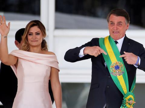 Bolsonaro, presidente de Brasil