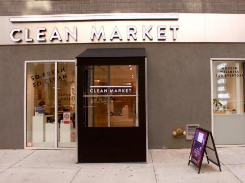 Clean Market is a luxury wellness center in NYC that offers treatments such as cryotherapy and vitamin IV drips.