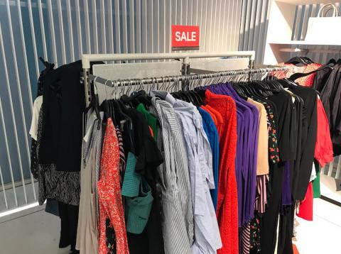 Deals and discounts have been frequent at H&M.