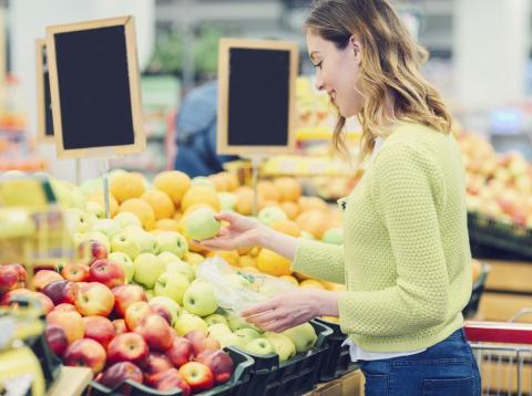 Las frutas son ricas en fibra