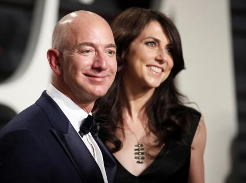 Jeff and MacKenzie Bezos are getting divorced after 25 years of marriage. Would Amazon exist if they'd never been married? Probably not.