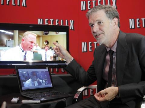 El CEO de Netflix, Reed Hastings.