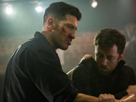 "1. ""Marvel's The Punisher"" (Netflix)"
