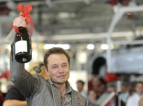 Tesla's fourth-quarter profit was its third ever in the company's history, and the first time two profitable quarters have been reported in succession.