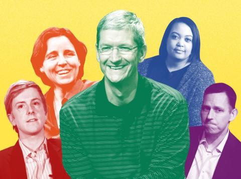 Las 23 personas LGBTQ+ más poderosas