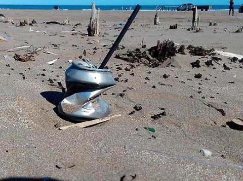 Residuos en las playas