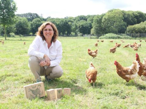 Nuria Varela Portas, cofundadora del Pazo de Vilanes