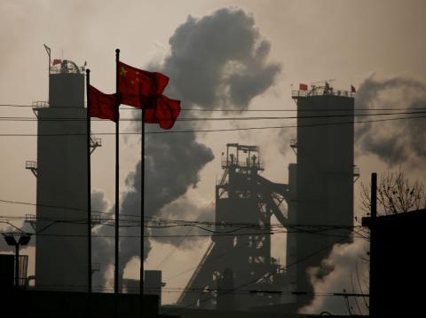 Un polígono industrial en China