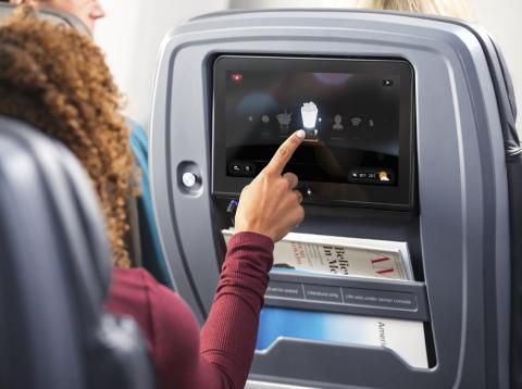 American Airlines premium economy.