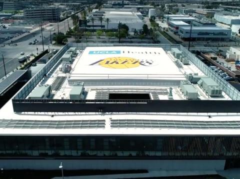 centro de entrenamiento de Los Ángeles Lakers