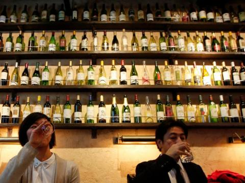 European wines are now cheaper in Japan.