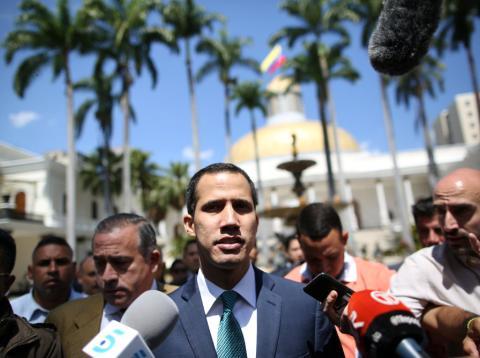La mayoría de países de la UE reconocen a Juan Guaidó