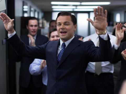 Leonardo DiCaprio played Belfort in 'The Wolf of Wall Street.'