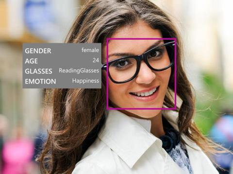 Microsoft's Face API.