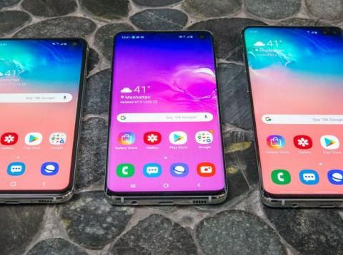 The Samsung Galaxy S10 is one of the few major smartphones you can still buy with a headphone jack