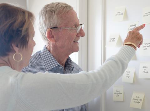 Personas mayores alzheimer