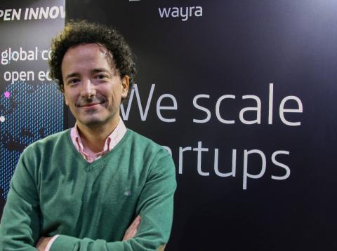 Miguel Arias, director de emprendimiento de Telefónica.