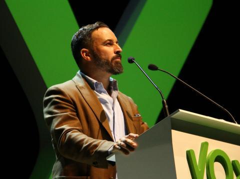 Santi Abascal, líder de Vox