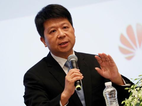 Guo Ping, presidente rotatorio de Huawei
