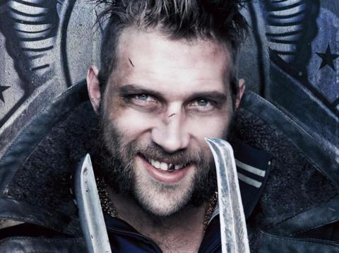 "Jai Courtney as Captain Boomerang in 2016's ""Suicide Squad."""