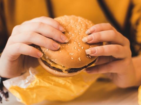 McDonalds hamburguesa