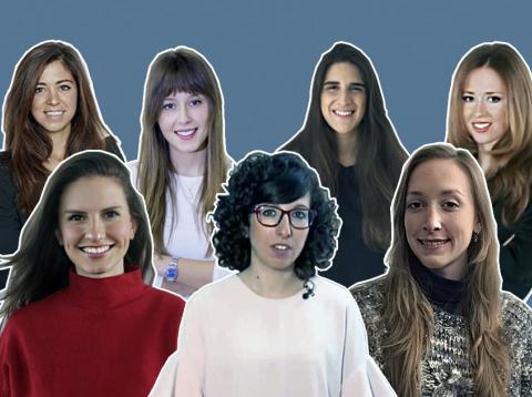 Mujeres españolas jovenes lideres menores de 35 años