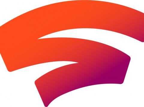 The official logo for Stadia, Google's new video game platform.