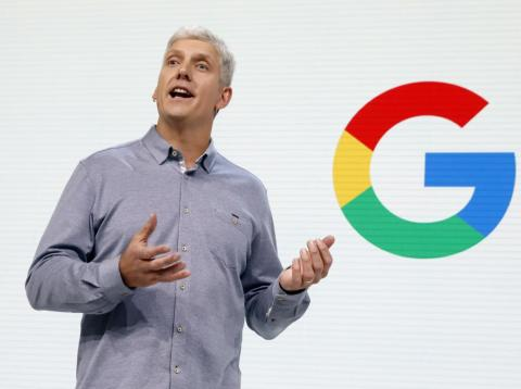 Rick Osterloh, Vicepresidente Senior de Hardware en Google