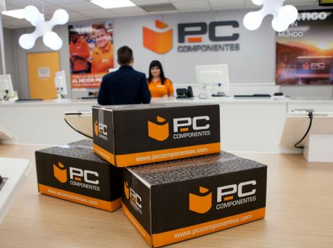 Una tienda de PC Componentes.