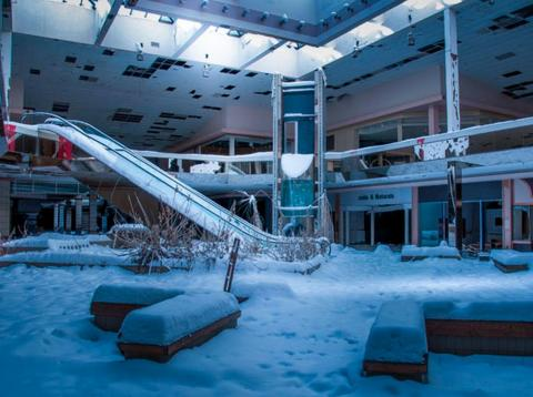 Abandoned shopping malls have become symbolic of the retail apocalypse.