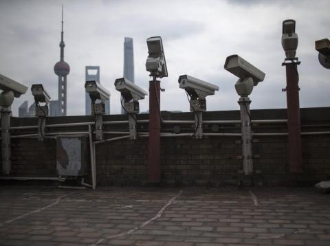 Bostrom made a case for global mass surveillance.
